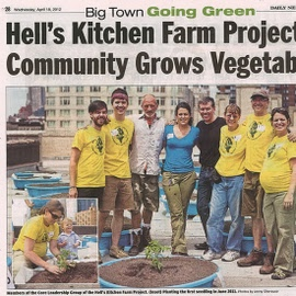 Hell's kitchen farm project, New York
