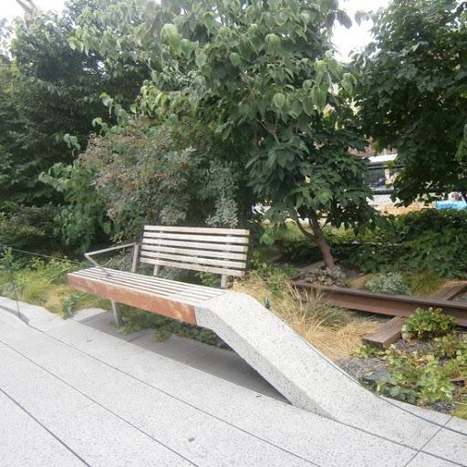 L'ancienne voie ferrée de la High Line